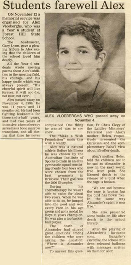 Alex Newspaper